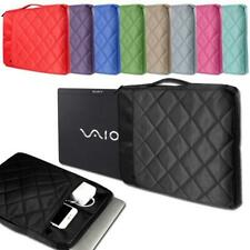 """Soft Carrying Sleeve Case Hand Bag For 11"""" to 15"""" Sony VAIO Laptop Notebook"""
