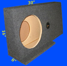 "FORD F150 SUPERCAB 2004-14 SIN 12"" DRIVER SIDE GREY SUBWOOFER SUB ENCLOSURE BOX"