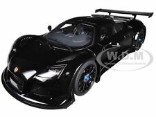 GUMPERT APOLLO S BLACK 1/18 DIECAST MODEL CAR BY AUTOART 71301