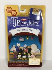 TJ Bearytales Our School Play Book & Cartridge - New Sealed Playskool English