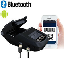 Mini Wireless 58mm Portable Bluetooth Thermal Receipt Printer for iOS Android
