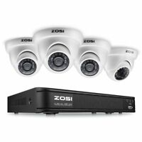 ZOSI 8-Channel HD-TVI 720P Video Security Camera System ,1080N Surveillance DVR