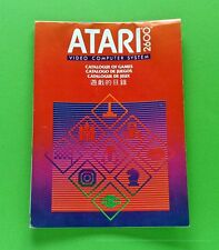 Atari 2600 Catalogue C020520 1982 Rev 1 Printed in Hong Kong