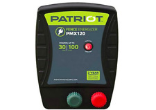 Patriot solar fence energizer PMX120