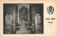 EARLY 1900's VINTAGE ITALY - SCALA SANTA ROMA POSTCARD