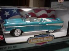 1957 Chevrolet Belair Turquoise 1:18 Ertl American Muscle 7026