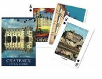 Chateaux of the Loire single deck By Piatnik Playing Cards.