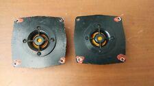 2pcs Vintage Tweeters 10GD-35(16ohm) Radiotehnika S90,Amphiton,Vega, made USSR