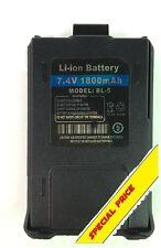 Batteria originale Baofeng BL-5  Li-Ion 7.4V 1800mAh  UV-5R, UV-5R Plus, UV-5RA