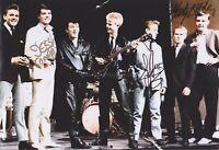 Marty Wilde, Joe Brown & Jess Conrad HAND SIGNED 12x8 Photo, Autograph