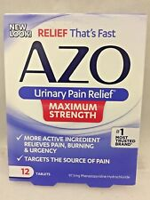 AZO Urinary Pain Relief Maximum Strength 12 Tabs