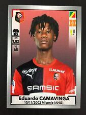 Eduardo Camavinga Rookie Sticker Second Edition Panini 424 Foot 2019 2020 19-20