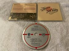 NEIL YOUNG HARVEST ORIGINAL TARGET CD MADE IN WEST GERMANY R&B