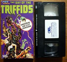 THE DAY OF THE TRIFFIDS Original Uncut Version CEL PAL VHS Video in Original Box