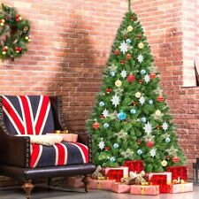 Artificial PVC Christmas Tree Decoration Holiday with Stand Solid Metal Leg Home