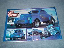 "Stone / Woods & Cook 1940 A/GS Willys Drag Racing History Article ""Still Cookin'"