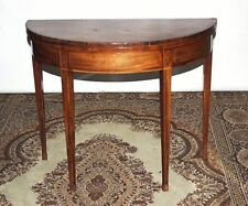 Antique Edwardian Victorian Folding Occasional Games Console Hallway Table Stand Edwardian (1901-1910)