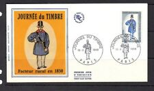 France Early Illustrated FDC 1968 Journee Du Timbre 96279