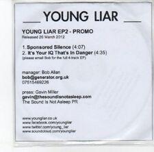 (DK87) Young Liar, Young Liar EP 2 - 2012 DJ CD