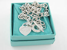 AUTH TIFFANY & CO HEART RETURN TO TIFFANY TOGGLE BRACELET WITH BOX & POUCH $375