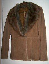 NEW YORK & CO. Suede Leather Jacket - Sz Med. - EUC - Just Cleaned!