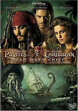 PIRATES OF THE CARIBBEAN: DEAD MAN'S CHEST - BRAND NEW/SEALED DVD (JOHNNY DEPP)