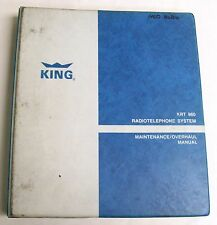 King KRT 960 Radio Telephone Original Maintenance/Overhaul Manual
