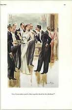 30's Risque Cartoons Howard Baer Exquisite Drunk Send Down More Blondes