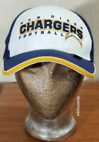 NFL Los Angeles Chargers Football Reebok Blue Ivory Strapback Hat Cap