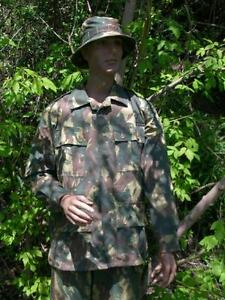 South African Transkei camo combat jacket size Large