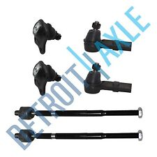 Brand New 6pc Front Inner &  Outer Tie Rod Lower Ball Joint VW Beetle Golf Jetta