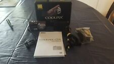 Nikon COOLPIX S230 10.0MP Digital Camera - in box battery + charger and more.
