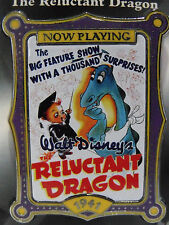 Disney 100 Years of Dreams Trading LE Pin #40 Reluctant Dragon Movie Poster NOC