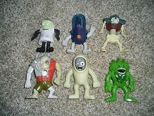 Lot 6 McDonalds Happy Meal 2003 Stretch Screamers Monsters Figures