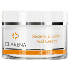 Clarena Acid Line Shicimic and Lactic Anti Wrinkle Moisturising Night Cream 50ml