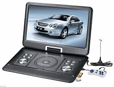 """10.1"""" Portable Rotatable Screen DVD Player with Game FM Function USB MC Port"""