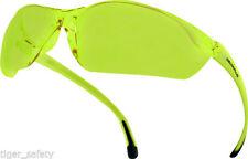 Occhiali e monolente da ciclismo con montatura in giallo per uomo