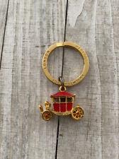 Harrods Knightsbridge London Carriage Vintage Keychain