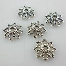 60pcs Tibetan Silver Spacer Bead Caps 10mm