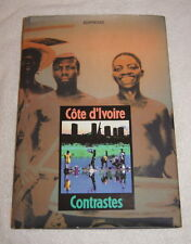 Cote d'Ivoire Contrastes (1991) Ivory Coast in French and English