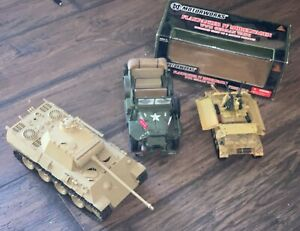 Lot of 3 21st Century Toys ?? LOT OF 3 MILITARY VEHICLES