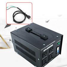 Voltage Converter Transformer 3000 Watt Step Up Down 110V - 220V Us Plug New