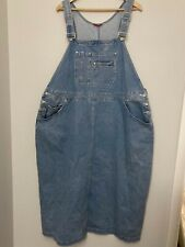 Venezia Bib Overall Dress Jumper Denim Western Modest Country See Notes