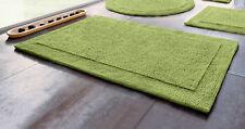 Tapis de bain Home Affaire Collection tournant optique, hauteur 20 mm 70 X 110 cm vert. NEUF
