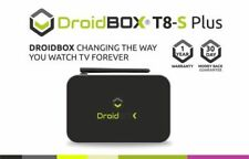DroidBOX Black 2160p Internet TV & Media Streamers