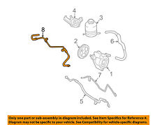TOYOTA OEM 04-05 RAV4 Power Steering Pump-Upper Return Line Hose 4442042060