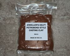 JEWELLERY DELFT PETROBOND STYLE METAL CASTING CLAY - 500 GRAMS - FREE POSTAGE