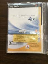 NEW 79001 User Manual PlayStation 2 PS2 Network Adaptor Online Start-Up Disc 4.0