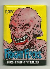 Fright Flicks Trading Cards - Pumpkinhead Wrapper (Topps, 1988) Wax Pack