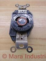 Leviton 2360 Single Lock Receptacle NEMA L10-20